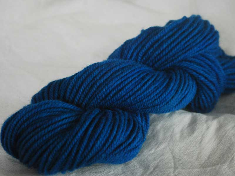 Romney/Alpaca Yarn - Twilight