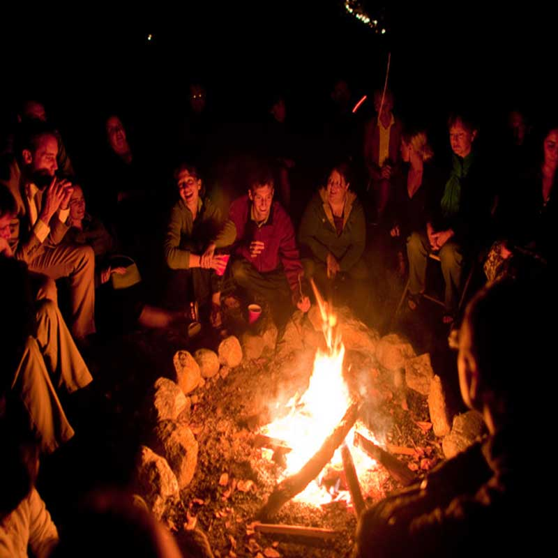 Dinner, Bonfire and Music on the Farm