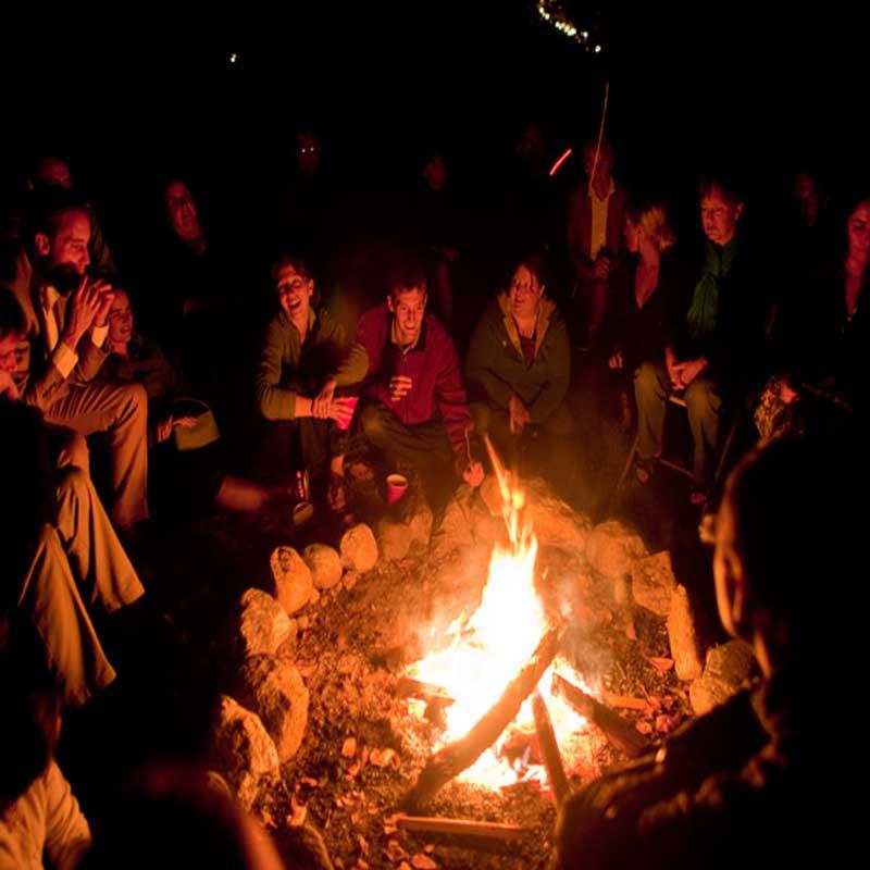 Dinner, Bonfire and Music on the Farm
