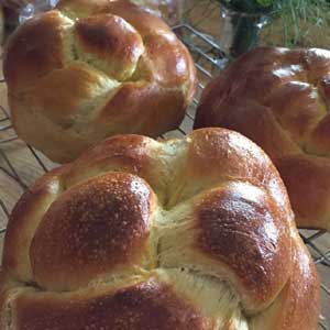 Sourdough Challah Bread