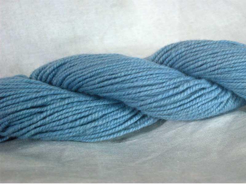 Romney/Alpaca Yarn - Wedgewood