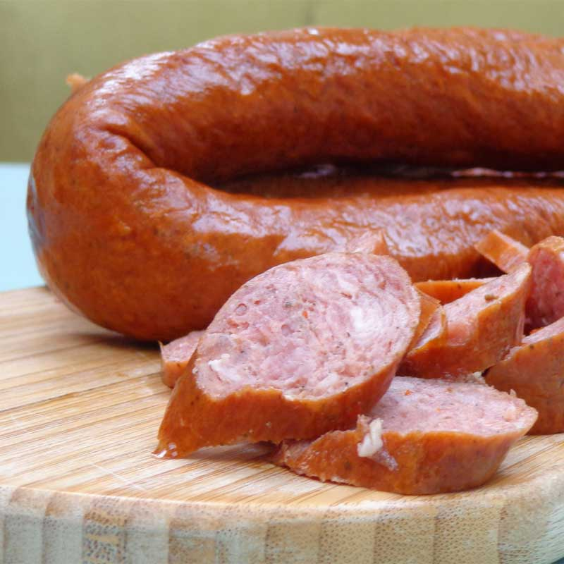 Beef Andouille Sausage