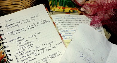 Keeping a Gardening Journal