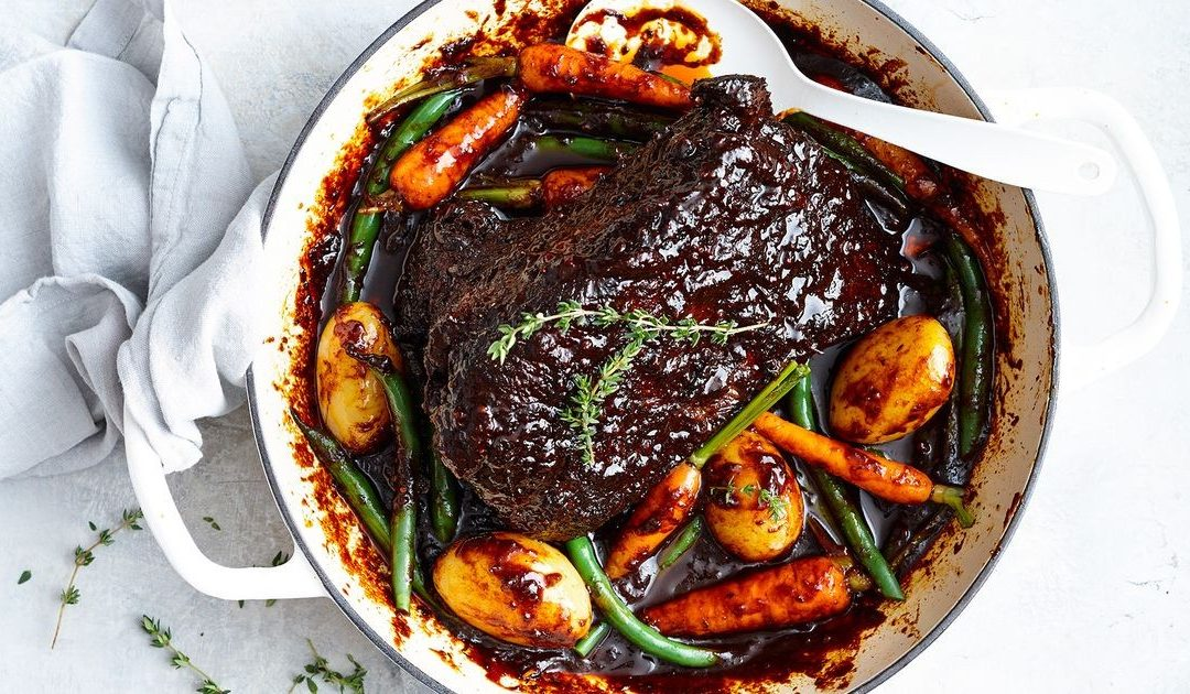 Beef Brisket – Honey-Braised