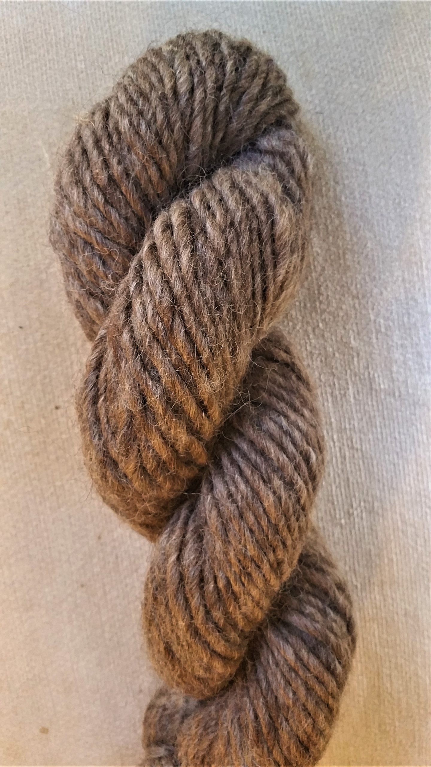 Brown Wool and Alpaca Lopi