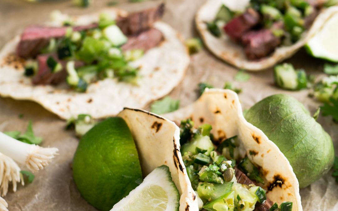 Marinated Skirt Steak with Lime